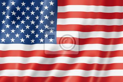 Постер Флаг Соединенных Штатов Америки, 30x20 см, на бумагеФлаг США<br>Постер на холсте или бумаге. Любого нужного вам размера. В раме или без. Подвес в комплекте. Трехслойная надежная упаковка. Доставим в любую точку России. Вам осталось только повесить картину на стену!<br>