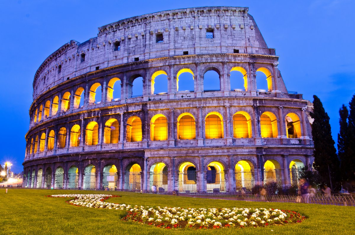 Постер Города и карты Колизей ночью, Рим, Италия, 30x20 см, на бумагеРим<br>Постер на холсте или бумаге. Любого нужного вам размера. В раме или без. Подвес в комплекте. Трехслойная надежная упаковка. Доставим в любую точку России. Вам осталось только повесить картину на стену!<br>