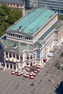 Постер Франкфурт Alte Oper ФранкфуртФранкфурт<br>Постер на холсте или бумаге. Любого нужного вам размера. В раме или без. Подвес в комплекте. Трехслойная надежная упаковка. Доставим в любую точку России. Вам осталось только повесить картину на стену!<br>