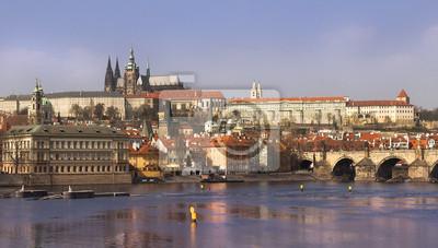Постер Прага Splendid, Прага, Чешская РеспубликаПрага<br>Постер на холсте или бумаге. Любого нужного вам размера. В раме или без. Подвес в комплекте. Трехслойная надежная упаковка. Доставим в любую точку России. Вам осталось только повесить картину на стену!<br>