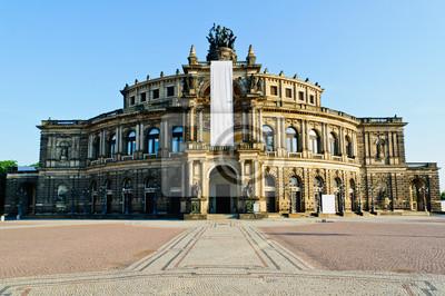 Постер Дрезден Semper opera ДрезденДрезден<br>Постер на холсте или бумаге. Любого нужного вам размера. В раме или без. Подвес в комплекте. Трехслойная надежная упаковка. Доставим в любую точку России. Вам осталось только повесить картину на стену!<br>