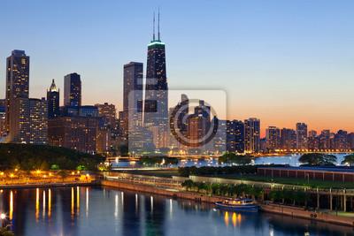 Постер Чикаго Чикаго Город.Чикаго<br>Постер на холсте или бумаге. Любого нужного вам размера. В раме или без. Подвес в комплекте. Трехслойная надежная упаковка. Доставим в любую точку России. Вам осталось только повесить картину на стену!<br>