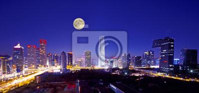 Постер Пекин Центрального делового района в ПекинеПекин<br>Постер на холсте или бумаге. Любого нужного вам размера. В раме или без. Подвес в комплекте. Трехслойная надежная упаковка. Доставим в любую точку России. Вам осталось только повесить картину на стену!<br>