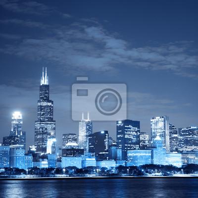 Постер Чикаго ЧикагоЧикаго<br>Постер на холсте или бумаге. Любого нужного вам размера. В раме или без. Подвес в комплекте. Трехслойная надежная упаковка. Доставим в любую точку России. Вам осталось только повесить картину на стену!<br>