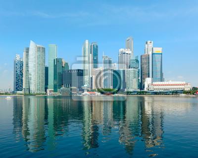 Постер Сингапур Сингапур skylineСингапур<br>Постер на холсте или бумаге. Любого нужного вам размера. В раме или без. Подвес в комплекте. Трехслойная надежная упаковка. Доставим в любую точку России. Вам осталось только повесить картину на стену!<br>