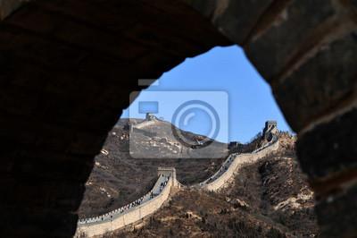 Постер Пекин Пекин-Великая китайская СтенаПекин<br>Постер на холсте или бумаге. Любого нужного вам размера. В раме или без. Подвес в комплекте. Трехслойная надежная упаковка. Доставим в любую точку России. Вам осталось только повесить картину на стену!<br>