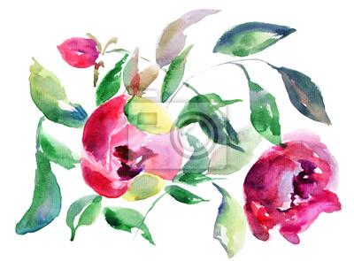 Постер Пионы Весна цветы ПионыПионы<br>Постер на холсте или бумаге. Любого нужного вам размера. В раме или без. Подвес в комплекте. Трехслойная надежная упаковка. Доставим в любую точку России. Вам осталось только повесить картину на стену!<br>