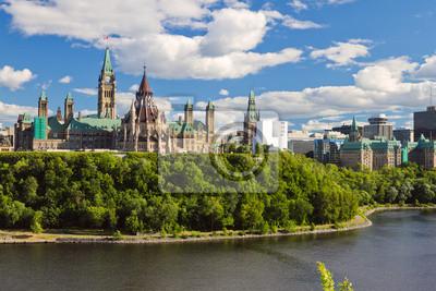 Парламент Хилл, Оттава, Онтарио, Канада, 30x20 см, на бумагеКанада<br>Постер на холсте или бумаге. Любого нужного вам размера. В раме или без. Подвес в комплекте. Трехслойная надежная упаковка. Доставим в любую точку России. Вам осталось только повесить картину на стену!<br>