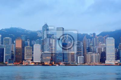 Постер Гонконг Гонконг утроГонконг<br>Постер на холсте или бумаге. Любого нужного вам размера. В раме или без. Подвес в комплекте. Трехслойная надежная упаковка. Доставим в любую точку России. Вам осталось только повесить картину на стену!<br>