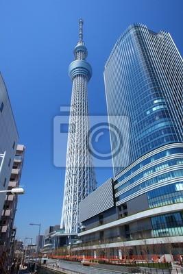 Постер Токио Tokyo sky tree, японский радио башняТокио<br>Постер на холсте или бумаге. Любого нужного вам размера. В раме или без. Подвес в комплекте. Трехслойная надежная упаковка. Доставим в любую точку России. Вам осталось только повесить картину на стену!<br>