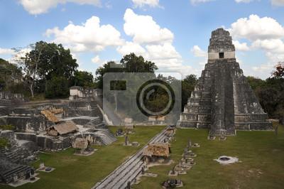 Майя Тикаль руины, Гватемала, 30x20 см, на бумагеРелигия<br>Постер на холсте или бумаге. Любого нужного вам размера. В раме или без. Подвес в комплекте. Трехслойная надежная упаковка. Доставим в любую точку России. Вам осталось только повесить картину на стену!<br>