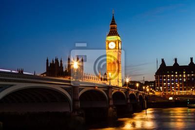 Постер Лондон Биг-Бен и здание парламента Ночью, Лондон, ВеликобританияЛондон<br>Постер на холсте или бумаге. Любого нужного вам размера. В раме или без. Подвес в комплекте. Трехслойная надежная упаковка. Доставим в любую точку России. Вам осталось только повесить картину на стену!<br>