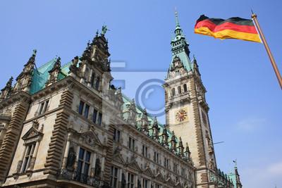 Постер Гамбург City Hall в ГамбургеГамбург<br>Постер на холсте или бумаге. Любого нужного вам размера. В раме или без. Подвес в комплекте. Трехслойная надежная упаковка. Доставим в любую точку России. Вам осталось только повесить картину на стену!<br>