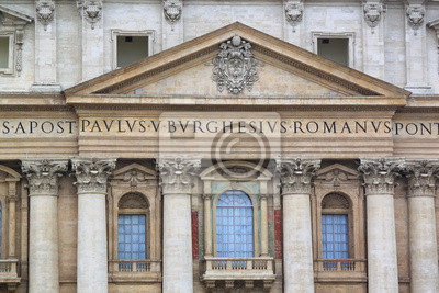 Постер Ватикан Базилика Сан-ПьетроВатикан<br>Постер на холсте или бумаге. Любого нужного вам размера. В раме или без. Подвес в комплекте. Трехслойная надежная упаковка. Доставим в любую точку России. Вам осталось только повесить картину на стену!<br>