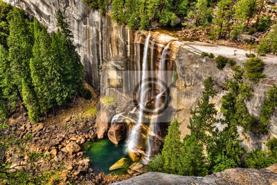 Постер Водопады Yosemite Valley - День Весеннего ПаденияВодопады<br>Постер на холсте или бумаге. Любого нужного вам размера. В раме или без. Подвес в комплекте. Трехслойная надежная упаковка. Доставим в любую точку России. Вам осталось только повесить картину на стену!<br>