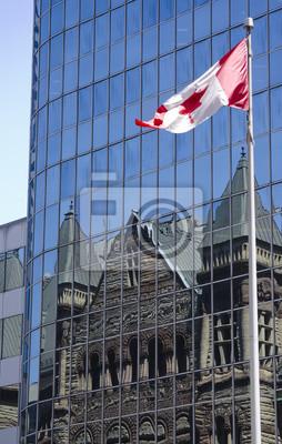 Постер Торонто Старая ратуша в ТоронтоТоронто<br>Постер на холсте или бумаге. Любого нужного вам размера. В раме или без. Подвес в комплекте. Трехслойная надежная упаковка. Доставим в любую точку России. Вам осталось только повесить картину на стену!<br>