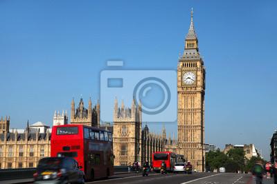 Постер Англия Биг-Бен с красными городской автобус в Лондон, ВеликобританияАнглия<br>Постер на холсте или бумаге. Любого нужного вам размера. В раме или без. Подвес в комплекте. Трехслойная надежная упаковка. Доставим в любую точку России. Вам осталось только повесить картину на стену!<br>