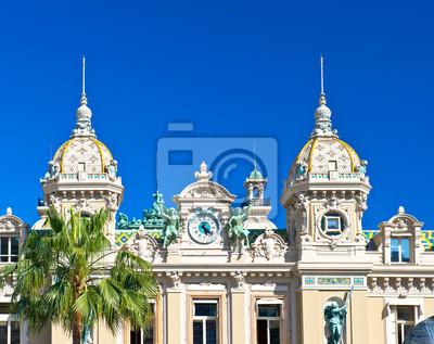 Гранд Казино в Монте-Карло, Монако, 25x20 см, на бумагеМонако<br>Постер на холсте или бумаге. Любого нужного вам размера. В раме или без. Подвес в комплекте. Трехслойная надежная упаковка. Доставим в любую точку России. Вам осталось только повесить картину на стену!<br>