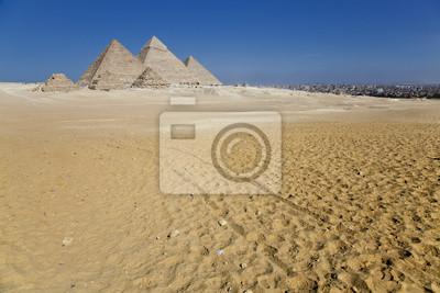 Постер Архитектура Постер 42864055, 30x20 см, на бумагеЕгипетские пирамиды<br>Постер на холсте или бумаге. Любого нужного вам размера. В раме или без. Подвес в комплекте. Трехслойная надежная упаковка. Доставим в любую точку России. Вам осталось только повесить картину на стену!<br>