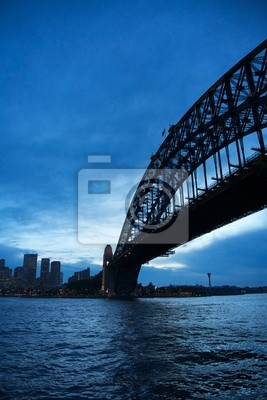Постер Сидней Сиднейский МостСидней<br>Постер на холсте или бумаге. Любого нужного вам размера. В раме или без. Подвес в комплекте. Трехслойная надежная упаковка. Доставим в любую точку России. Вам осталось только повесить картину на стену!<br>