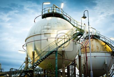 Постер Нефтяная промышленность