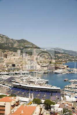 Постер Монако Панорама Монте-Карло гавани МонакоМонако<br>Постер на холсте или бумаге. Любого нужного вам размера. В раме или без. Подвес в комплекте. Трехслойная надежная упаковка. Доставим в любую точку России. Вам осталось только повесить картину на стену!<br>