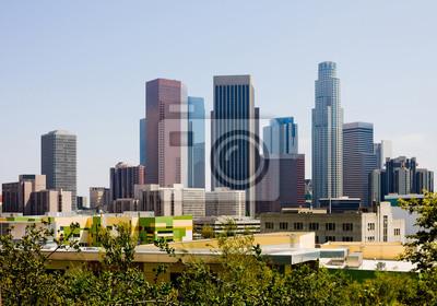 Постер Лос-Анджелес Небоскребы в центре Лос-АнджелесаЛос-Анджелес<br>Постер на холсте или бумаге. Любого нужного вам размера. В раме или без. Подвес в комплекте. Трехслойная надежная упаковка. Доставим в любую точку России. Вам осталось только повесить картину на стену!<br>