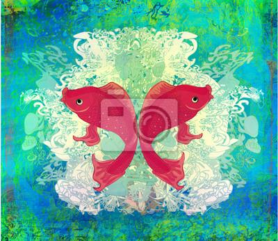 Постер Животные Постер 43076349, 23x20 см, на бумагеРыбы - японский карп<br>Постер на холсте или бумаге. Любого нужного вам размера. В раме или без. Подвес в комплекте. Трехслойная надежная упаковка. Доставим в любую точку России. Вам осталось только повесить картину на стену!<br>