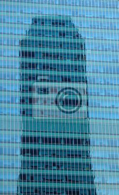 Постер Сингапур Небоскреб размышления центрального делового района СингапураСингапур<br>Постер на холсте или бумаге. Любого нужного вам размера. В раме или без. Подвес в комплекте. Трехслойная надежная упаковка. Доставим в любую точку России. Вам осталось только повесить картину на стену!<br>