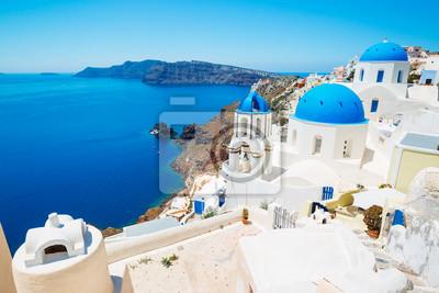 Постер Санторини Sanorini Острова, ГрецияСанторини<br>Постер на холсте или бумаге. Любого нужного вам размера. В раме или без. Подвес в комплекте. Трехслойная надежная упаковка. Доставим в любую точку России. Вам осталось только повесить картину на стену!<br>