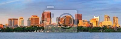 Постер Бостон Бостон skyline панорамаБостон<br>Постер на холсте или бумаге. Любого нужного вам размера. В раме или без. Подвес в комплекте. Трехслойная надежная упаковка. Доставим в любую точку России. Вам осталось только повесить картину на стену!<br>