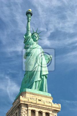 Постер Нью-Йорк Статуя Свободы, Манхэттен-Остров Свободы-Нью-ЙоркНью-Йорк<br>Постер на холсте или бумаге. Любого нужного вам размера. В раме или без. Подвес в комплекте. Трехслойная надежная упаковка. Доставим в любую точку России. Вам осталось только повесить картину на стену!<br>