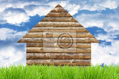 Постер Загородная недвижимость Эко-дом концепцииЗагородная недвижимость<br>Постер на холсте или бумаге. Любого нужного вам размера. В раме или без. Подвес в комплекте. Трехслойная надежная упаковка. Доставим в любую точку России. Вам осталось только повесить картину на стену!<br>