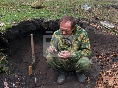 Археолог 4, 27x20 см, на бумаге08.15 День археолога<br>Постер на холсте или бумаге. Любого нужного вам размера. В раме или без. Подвес в комплекте. Трехслойная надежная упаковка. Доставим в любую точку России. Вам осталось только повесить картину на стену!<br>