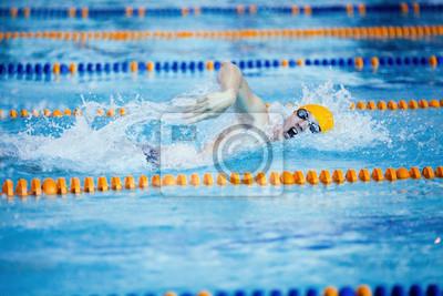 Постер Плавание