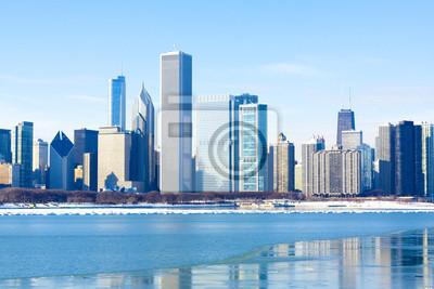 Постер Чикаго Синий Город КонцепцииЧикаго<br>Постер на холсте или бумаге. Любого нужного вам размера. В раме или без. Подвес в комплекте. Трехслойная надежная упаковка. Доставим в любую точку России. Вам осталось только повесить картину на стену!<br>