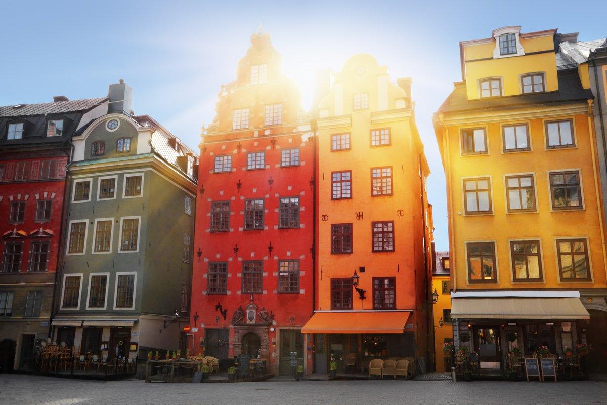 Постер Стокгольм Старый городСтокгольм<br>Постер на холсте или бумаге. Любого нужного вам размера. В раме или без. Подвес в комплекте. Трехслойная надежная упаковка. Доставим в любую точку России. Вам осталось только повесить картину на стену!<br>
