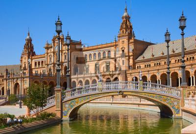 Мост Plaza de Espana, Севилья, Испания, 29x20 см, на бумагеИспания<br>Постер на холсте или бумаге. Любого нужного вам размера. В раме или без. Подвес в комплекте. Трехслойная надежная упаковка. Доставим в любую точку России. Вам осталось только повесить картину на стену!<br>