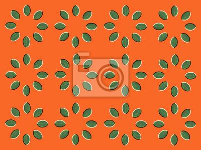 Постер Оптическая иллюзия круги сделаны из зеленых листьевАбстракция<br>Постер на холсте или бумаге. Любого нужного вам размера. В раме или без. Подвес в комплекте. Трехслойная надежная упаковка. Доставим в любую точку России. Вам осталось только повесить картину на стену!<br>