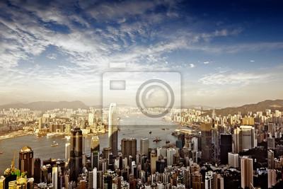 Постер Гонконг Ночной вид из Китая ГонконгГонконг<br>Постер на холсте или бумаге. Любого нужного вам размера. В раме или без. Подвес в комплекте. Трехслойная надежная упаковка. Доставим в любую точку России. Вам осталось только повесить картину на стену!<br>