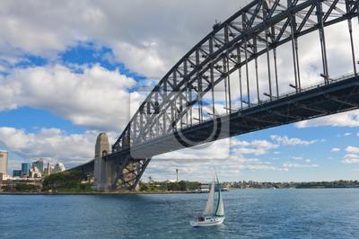 Постер Сидней Sydney Harbour BridgeСидней<br>Постер на холсте или бумаге. Любого нужного вам размера. В раме или без. Подвес в комплекте. Трехслойная надежная упаковка. Доставим в любую точку России. Вам осталось только повесить картину на стену!<br>