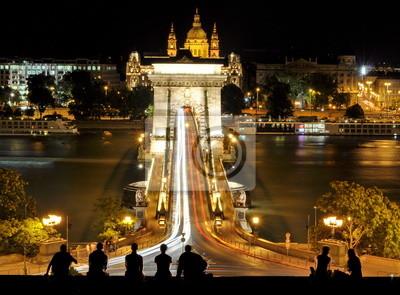 Цепной Мост в Будапешт, Венгрия, 27x20 см, на бумагеБудапешт<br>Постер на холсте или бумаге. Любого нужного вам размера. В раме или без. Подвес в комплекте. Трехслойная надежная упаковка. Доставим в любую точку России. Вам осталось только повесить картину на стену!<br>
