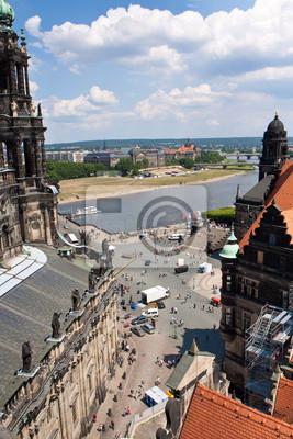 Постер Города и карты Огромная панорама Дрезден, Германия, 20x30 см, на бумагеДрезден<br>Постер на холсте или бумаге. Любого нужного вам размера. В раме или без. Подвес в комплекте. Трехслойная надежная упаковка. Доставим в любую точку России. Вам осталось только повесить картину на стену!<br>