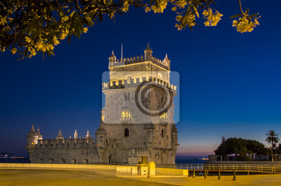 Постер Лиссабон Башни БелемЛиссабон<br>Постер на холсте или бумаге. Любого нужного вам размера. В раме или без. Подвес в комплекте. Трехслойная надежная упаковка. Доставим в любую точку России. Вам осталось только повесить картину на стену!<br>