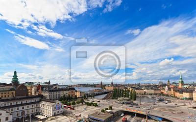 Постер Города и карты Stockholm city view, 32x20 см, на бумагеСтокгольм<br>Постер на холсте или бумаге. Любого нужного вам размера. В раме или без. Подвес в комплекте. Трехслойная надежная упаковка. Доставим в любую точку России. Вам осталось только повесить картину на стену!<br>
