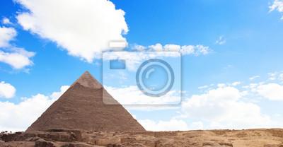 Постер Египетские пирамиды Постер 43912951, 38x20 см, на бумагеЕгипетские пирамиды<br>Постер на холсте или бумаге. Любого нужного вам размера. В раме или без. Подвес в комплекте. Трехслойная надежная упаковка. Доставим в любую точку России. Вам осталось только повесить картину на стену!<br>