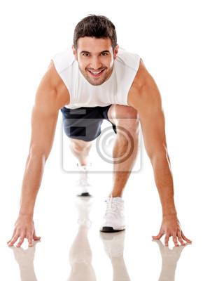Постер Оформление офиса Конкурентные мужчина-атлет, 20x28 см, на бумагеФитнес клуб, спорт зал<br>Постер на холсте или бумаге. Любого нужного вам размера. В раме или без. Подвес в комплекте. Трехслойная надежная упаковка. Доставим в любую точку России. Вам осталось только повесить картину на стену!<br>