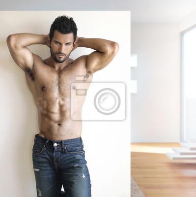 Постер Оформление офиса Сексуальный чувак, 20x20 см, на бумагеФитнес клуб, спорт зал<br>Постер на холсте или бумаге. Любого нужного вам размера. В раме или без. Подвес в комплекте. Трехслойная надежная упаковка. Доставим в любую точку России. Вам осталось только повесить картину на стену!<br>