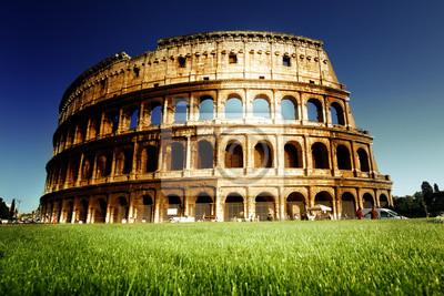Постер Города и карты Колизей в Риме, Италия, 30x20 см, на бумагеРим<br>Постер на холсте или бумаге. Любого нужного вам размера. В раме или без. Подвес в комплекте. Трехслойная надежная упаковка. Доставим в любую точку России. Вам осталось только повесить картину на стену!<br>