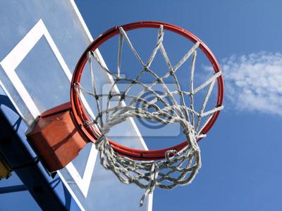 Постер Баскетбол Баскетбольное кольцо.Баскетбол<br>Постер на холсте или бумаге. Любого нужного вам размера. В раме или без. Подвес в комплекте. Трехслойная надежная упаковка. Доставим в любую точку России. Вам осталось только повесить картину на стену!<br>